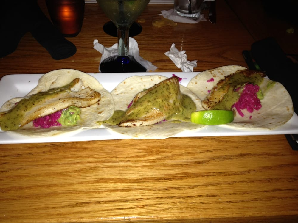Their fish taco platter - Yelp