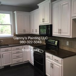 Photo Of Glennyu0027s Painting   Charlotte, NC, United States. Finish Paint