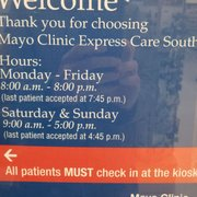 Mayo Clinic Express Care - 2019 All You Need to Know BEFORE You Go