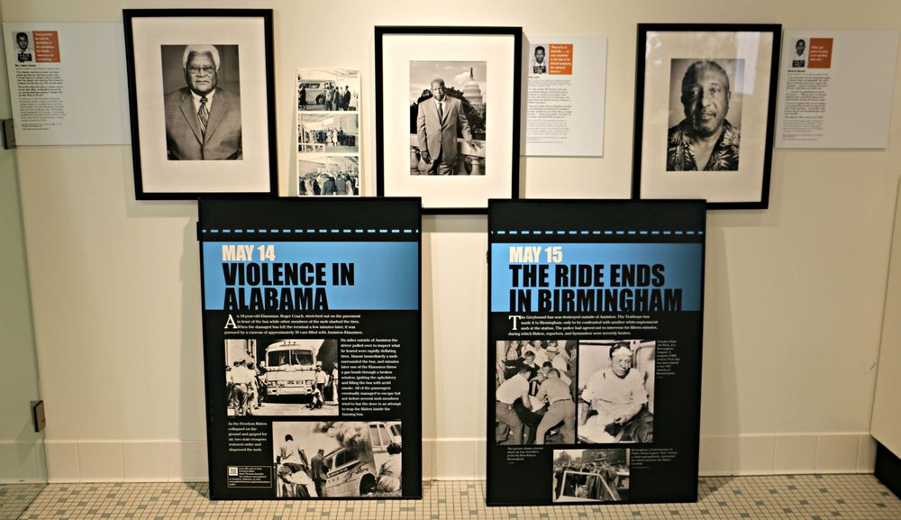 Social Spots from Freedom Rides Museum