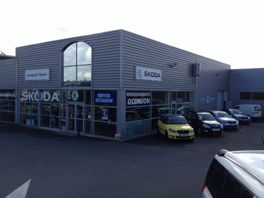 Garage de l avenir skoda saint brieuc garages 12 rue for Garage skoda 92