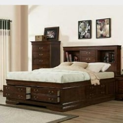 Photo Of Sofa Center   Oakland, CA, United States. Captain Bed Drawers All