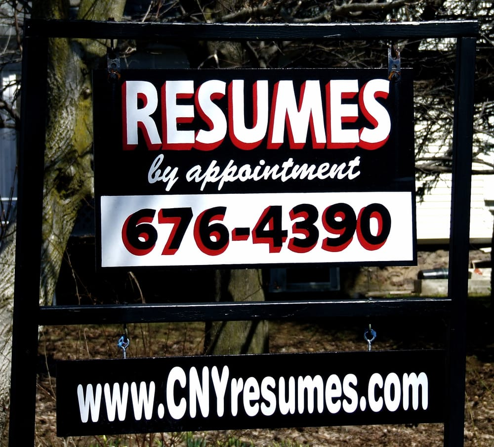 Resumes Etc 612 S Main St Central Square Ny Phone Number Yelp