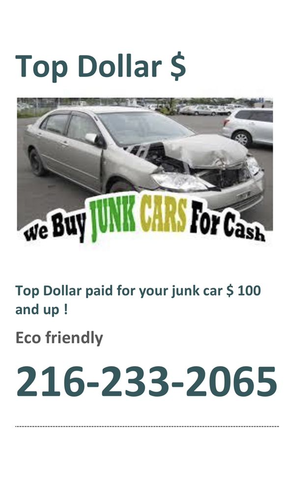 Top Pay For Junk Cars >> Top Dollar Paid For Junk Cars Yelp