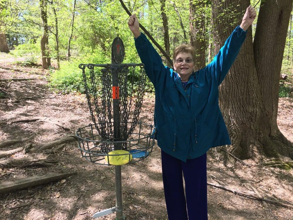 Bluemont Park Disc Golf Course