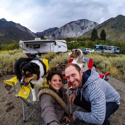 Photo of Adventure In Camping - Mammoth Lakes, CA, United States. Convict  lake