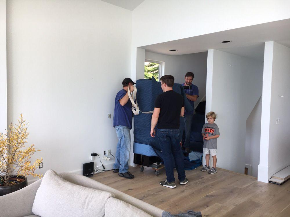 Viking Piano Movers: 43 Dowitcher Way, San Rafael, CA