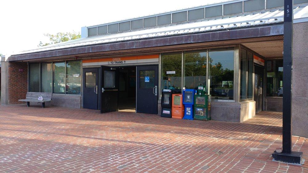 MBTA Green Street Station: 150 Green St, Jamaica Plain, MA