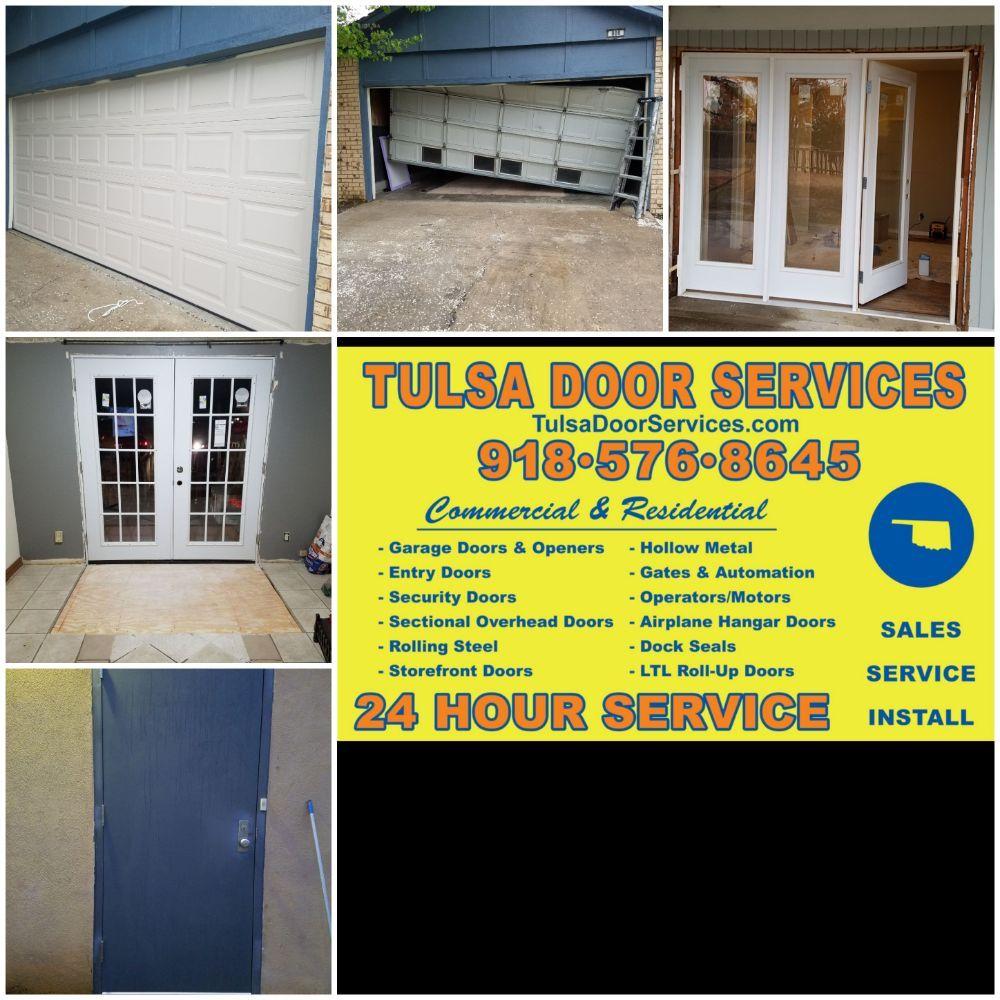 Tulsa Door Services: 9524 E 81st St, Tulsa, OK