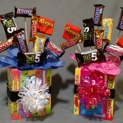 Photo of Monster Snacks - Erie, PA, United States. Candy Bouquet.