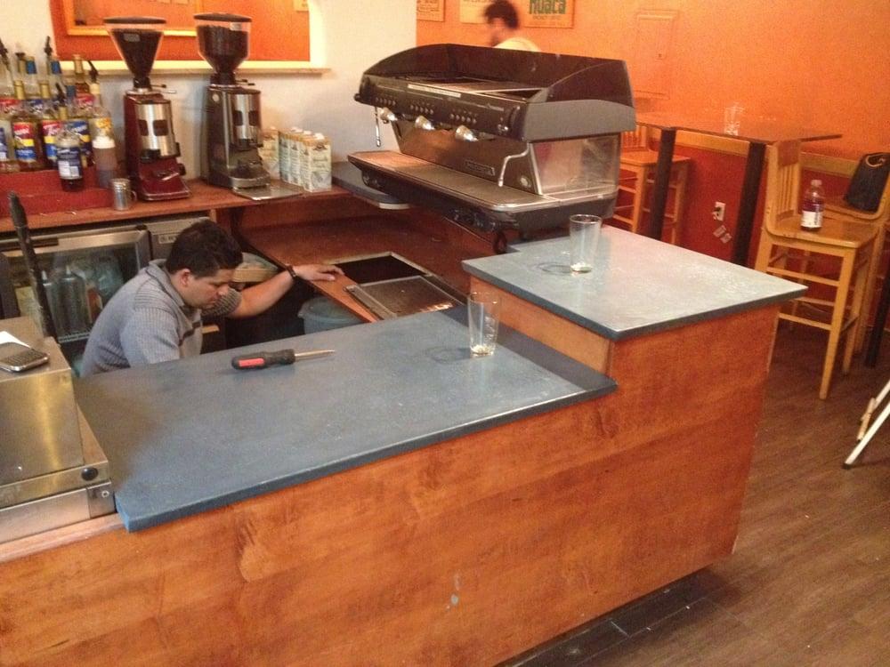 Photo Of The Earth Builders   Clovis, CA, United States. Concrete Espresso  Bar