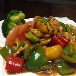 Sakana Japanese Restaurant - Nanuet, NY, United States. Spicy Mango Chicken Entree