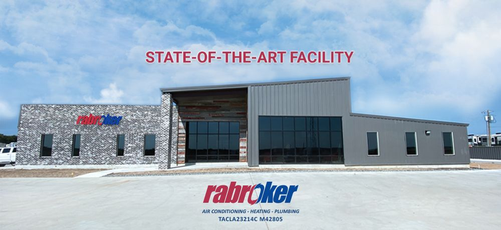 Rabroker Air Conditioning and Plumbing: 685 Enterprise Blvd, Hewitt, TX