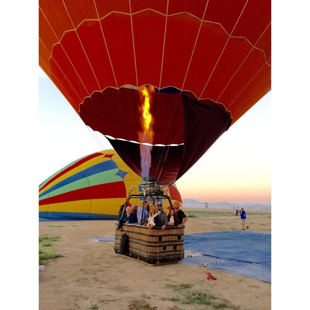 Hot Air Balloon Ride Yelp