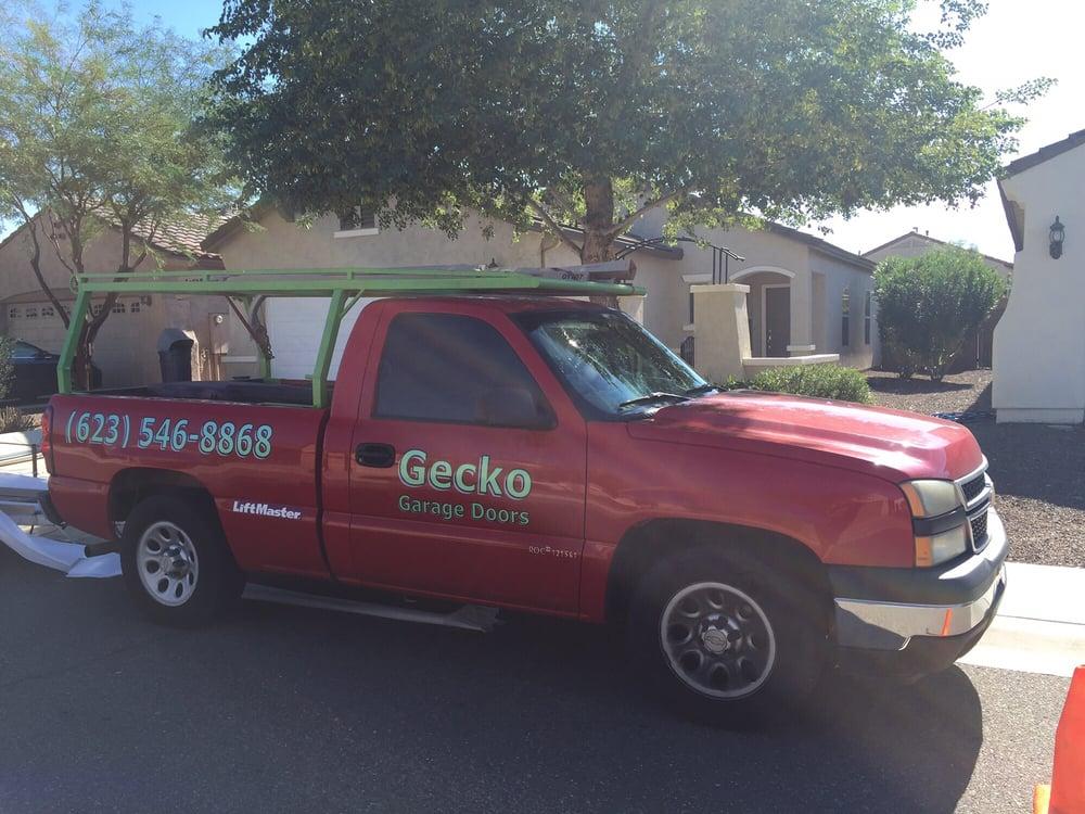 Gecko garage door repair service 10 anmeldelser garage for Garage door repair surprise az