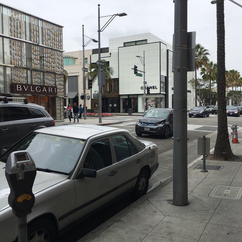 Brighton Parking Structure: 9510 Brighton Way, Beverly Hills, CA