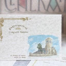 Celtic wedding invitations wicklow ireland