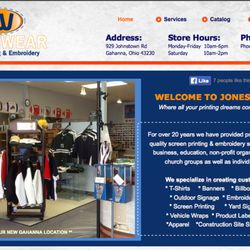 8613d09f Photo of Jones Wear Screen Printing And Embroidery - Gahanna, OH, United  States