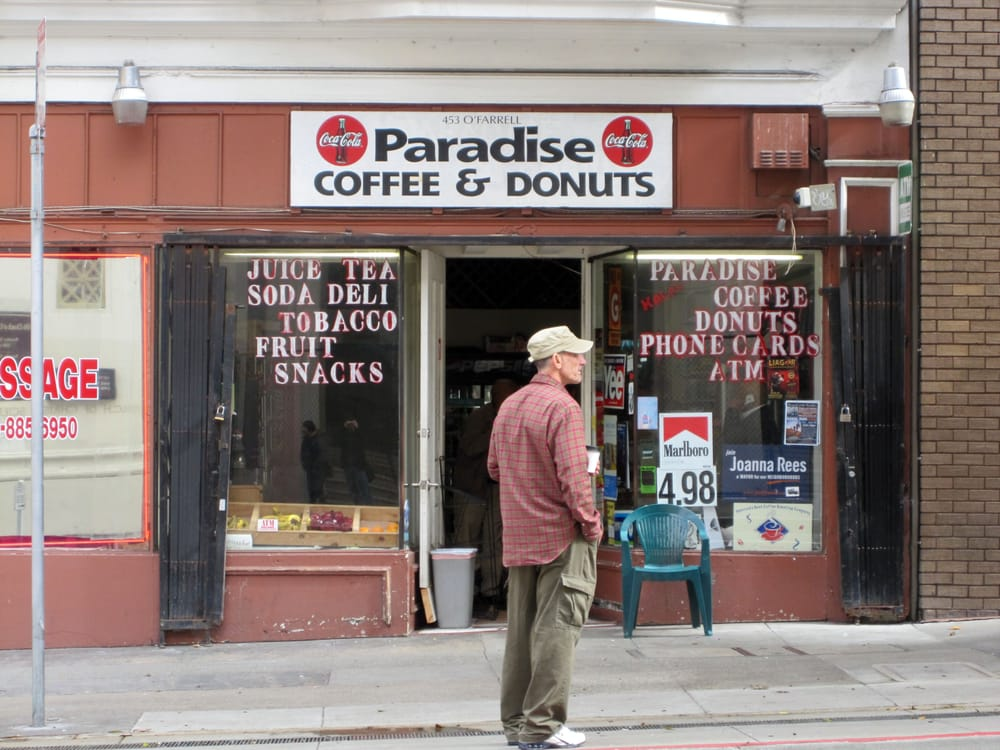 paradise coffee and donuts dating