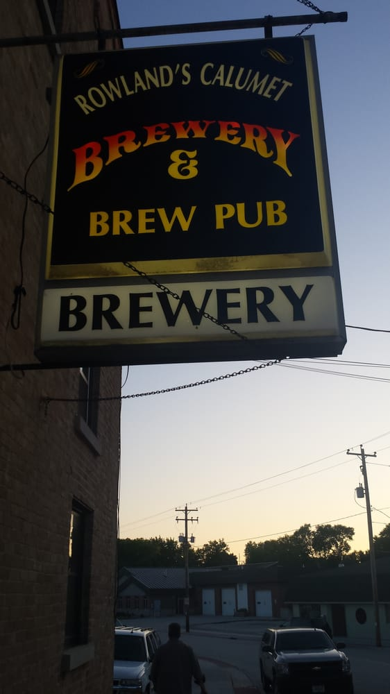 Rowland's Calumet Brewery: 25 N Madison St, Chilton, WI