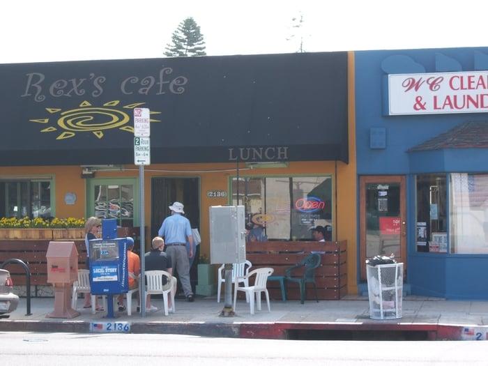 Rex Cafe San Pedro Menu