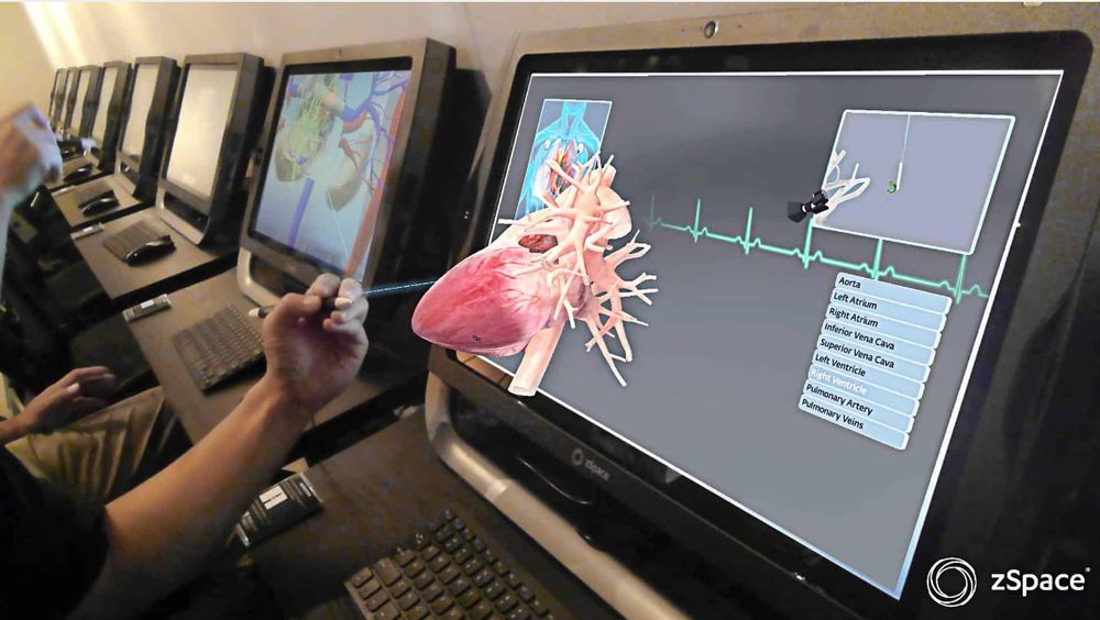 The Virtual Reality Lab allows students to learn the inner-workings ...