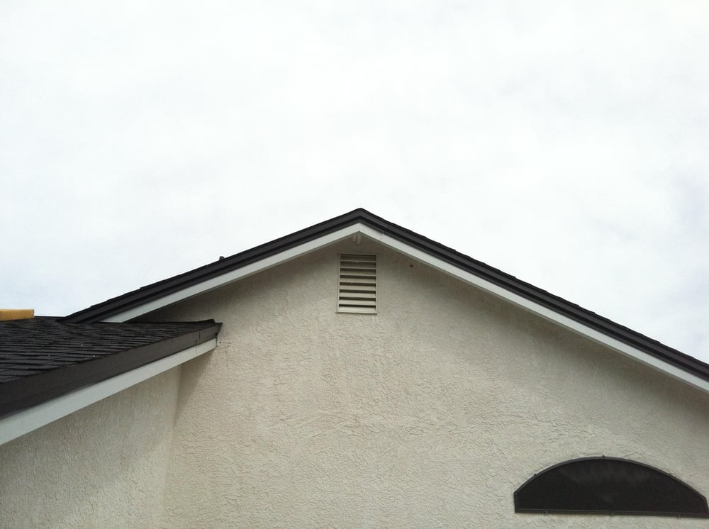 Gable After 2 Piece Clad Flashing Added Yelp