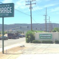 Photo Of Murrieta Mini Storage   Murrieta, CA, United States. Front Signage