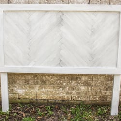 Exceptional Photo Of Sugar Land Woodworx   Sugar Land, TX, United States. Whitewashed  Herringbone