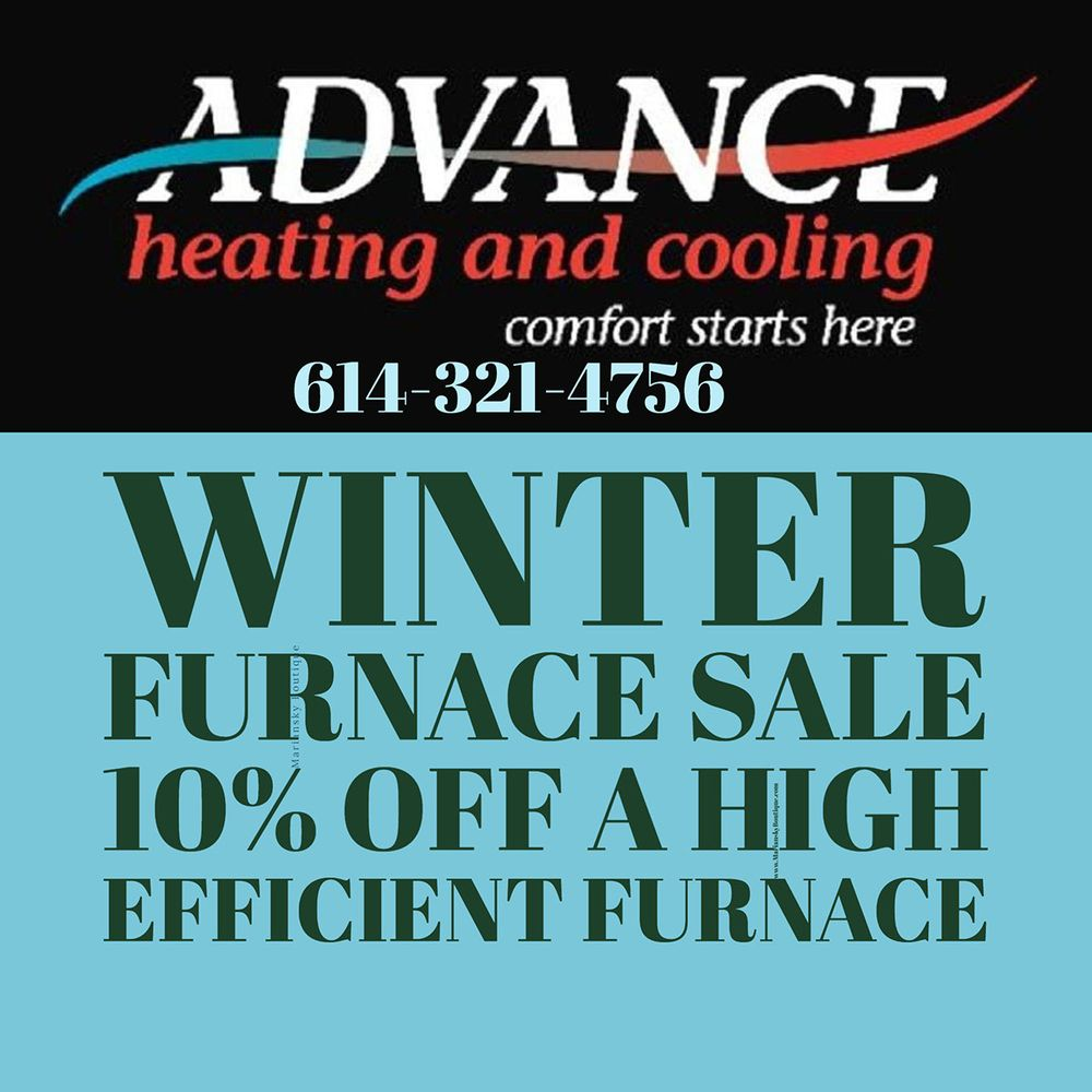 Advance Heating and Cooling: 4431 Carroll-Southern Rd NW, Carroll, OH