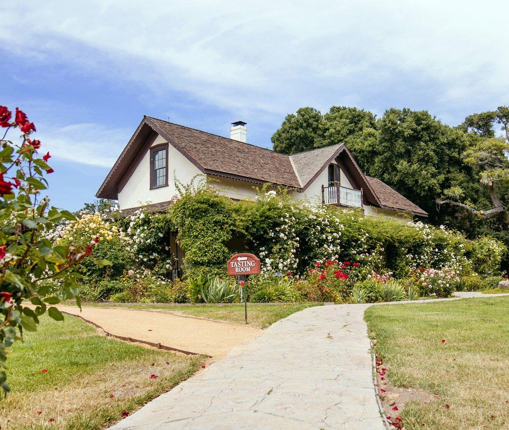 Rideau Vineyard: 1562 Alamo Pintado Rd, Solvang, CA