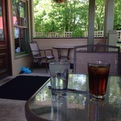 Genial Photo Of Tin Roof Kitchen   Alpharetta, GA, United States. Porch Patio Table