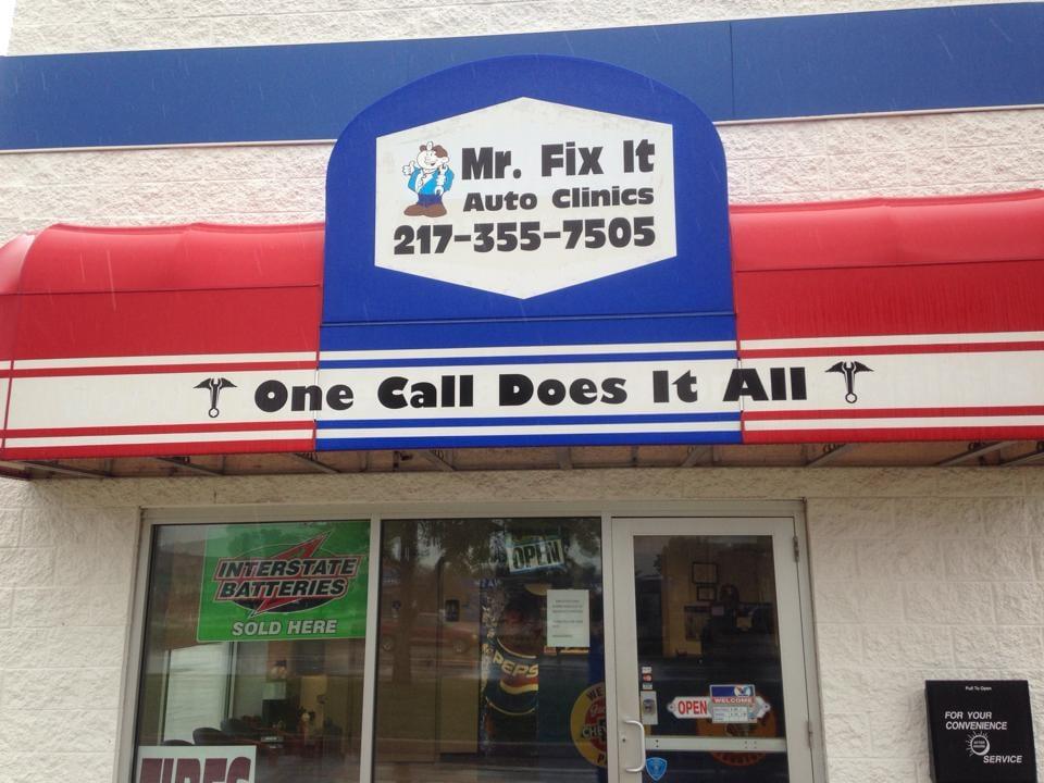 Mr fix it auto clinics garages 1109 parkland count for Mister auto garage partenaire