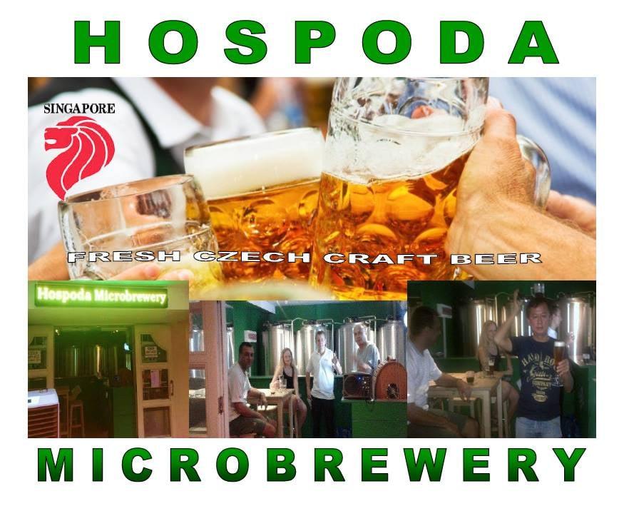 Hospoda Microbrewery Singapore