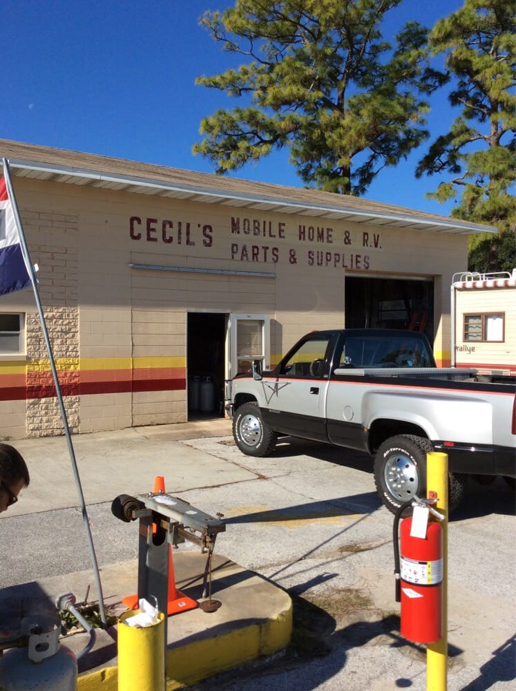 Cecil's Mobile Home & RV Parts & Service: 2640 S Ridgewood Ave, Edgewater, FL