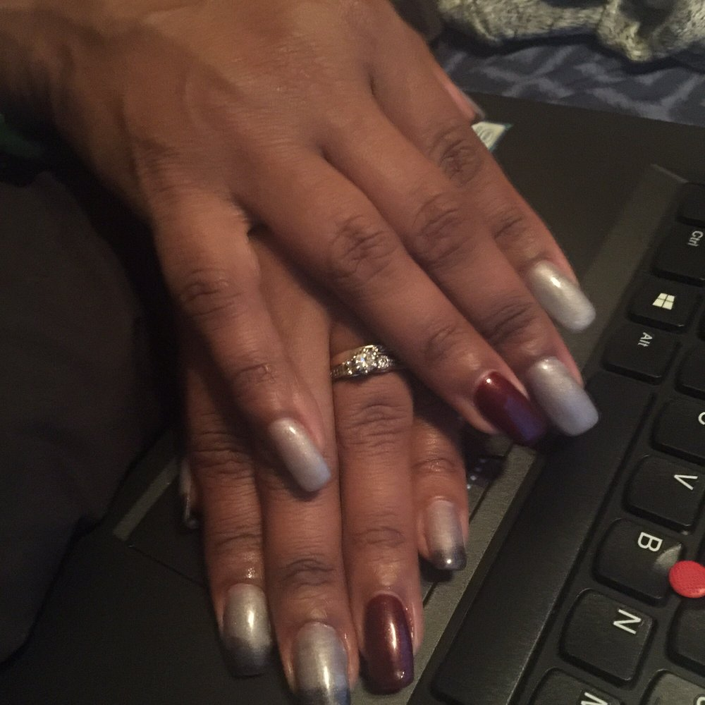 Moonlight gel color change nails by Peter - Yelp