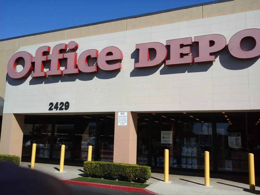 Office Depot   72 Reviews   Office Equipment   2429 E Chapman Ave,  Fullerton, CA   Phone Number   Yelp