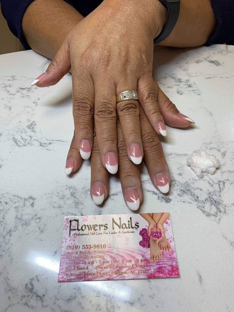 Flowers Nail: 50 Neuse River Pkwy, Clayton, NC