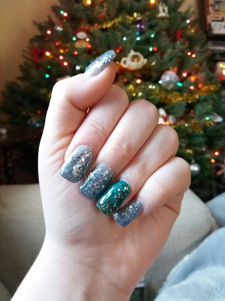 Photo Of Boulevard Nails Hasbrouck Heights Nj United States Crazy Christmas