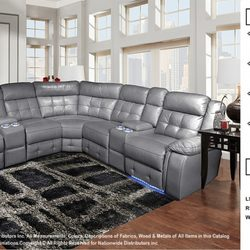 Genial Photo Of Discount Furniture   Aurora, IL, United States. Power Reclining  Sectional Only