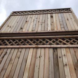 Sr Target Cedar Fence Panels 19 Photos Fences Amp Gates