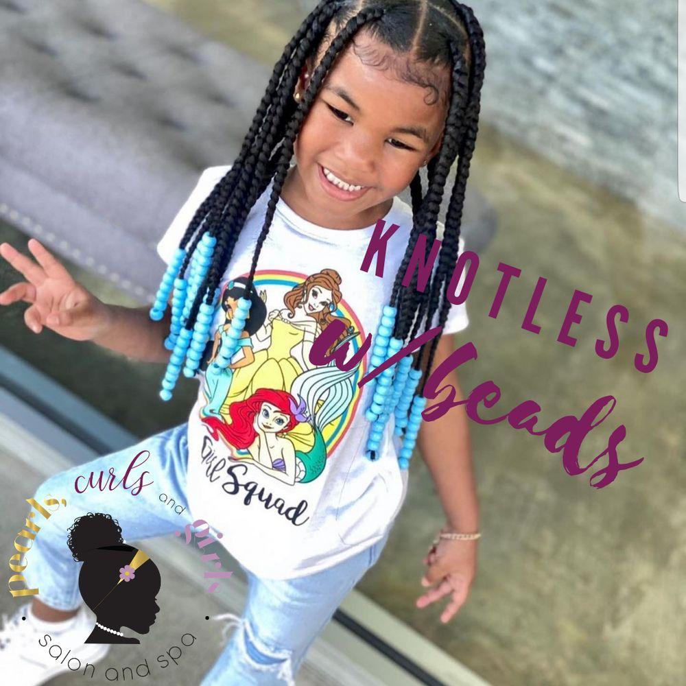 Pearls, Curls & Girls Salon and Spa: 16100 Cadillac Dr, Brandywine, MD