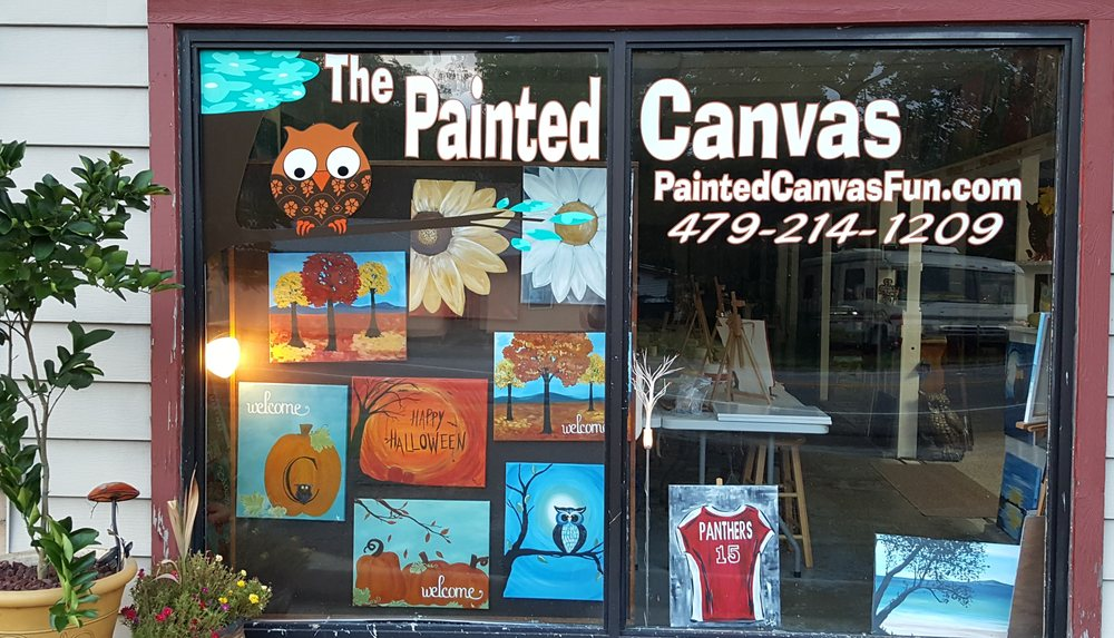 the painted canvas paint sip 1208 w main clarksville ar