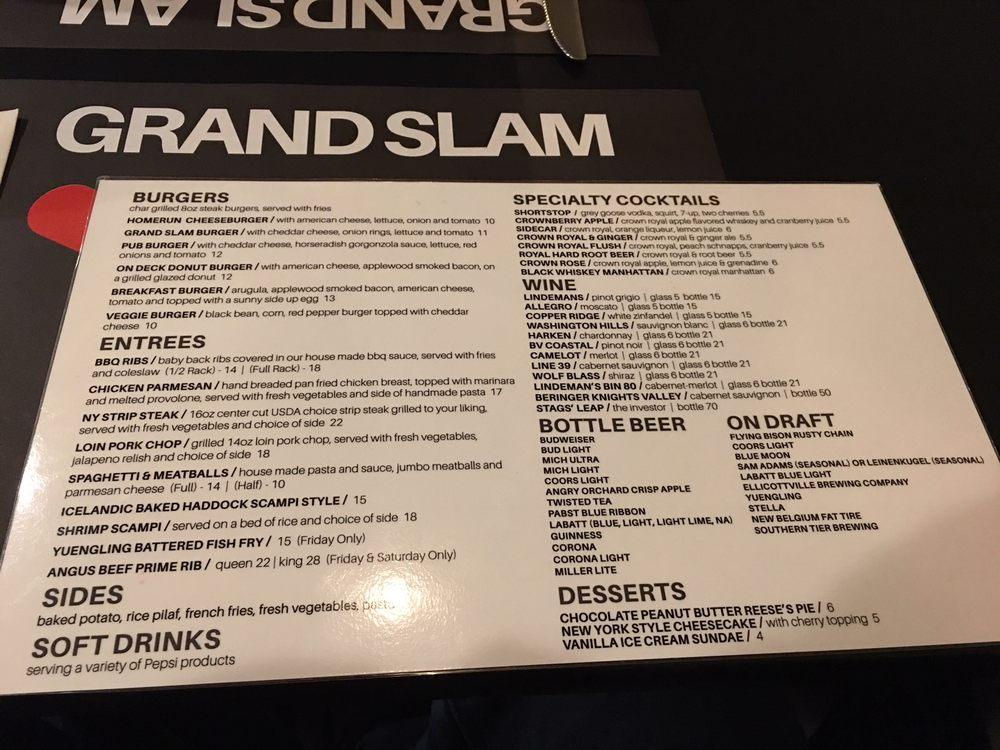 Grand Slam Grill: 3132 Nys Rte 417, Olean, NY
