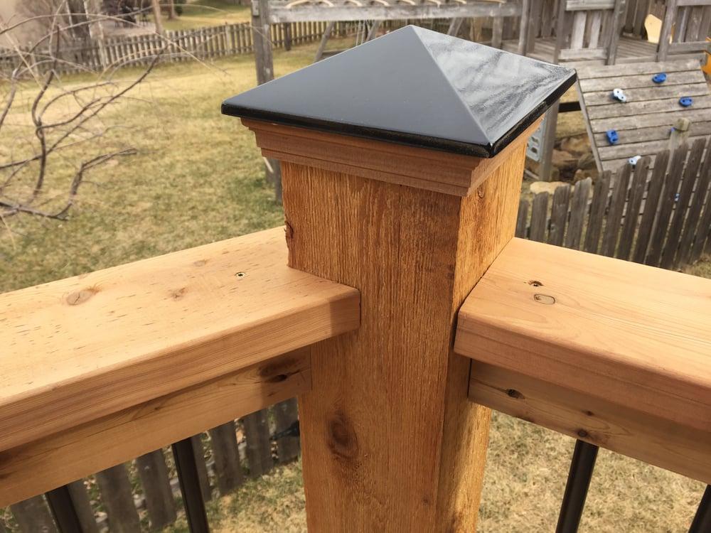 deckorators 6x6 cedar post cap - Yelp