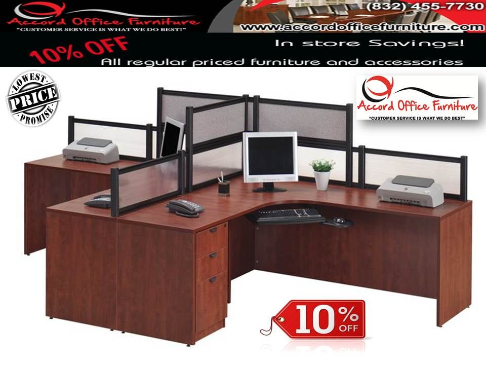 Accord office furniture closed 13 photos office for Affordable furniture gulf fwy