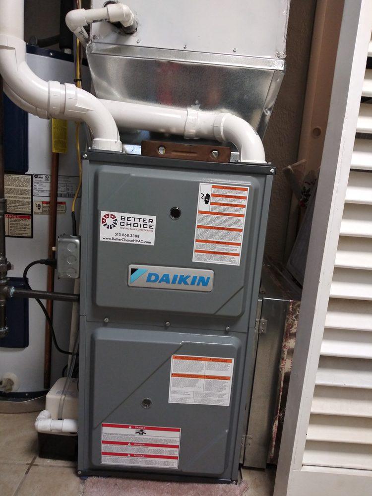 Better Choice Heating & Air Conditioning: 7568 Wyandot Ln, Liberty Township, OH