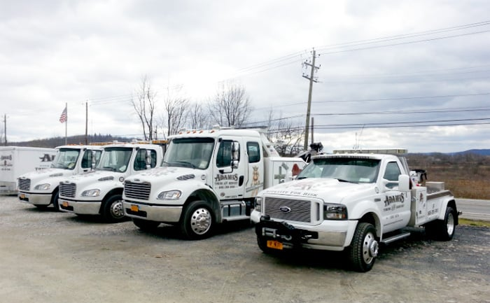 Towing business in Goshen (Town), NY