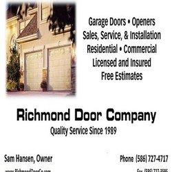 Photo of Richmond Door Company - Richmond MI United States  sc 1 st  Yelp & Richmond Door Company - Garage Door Services - Richmond MI - Phone ...