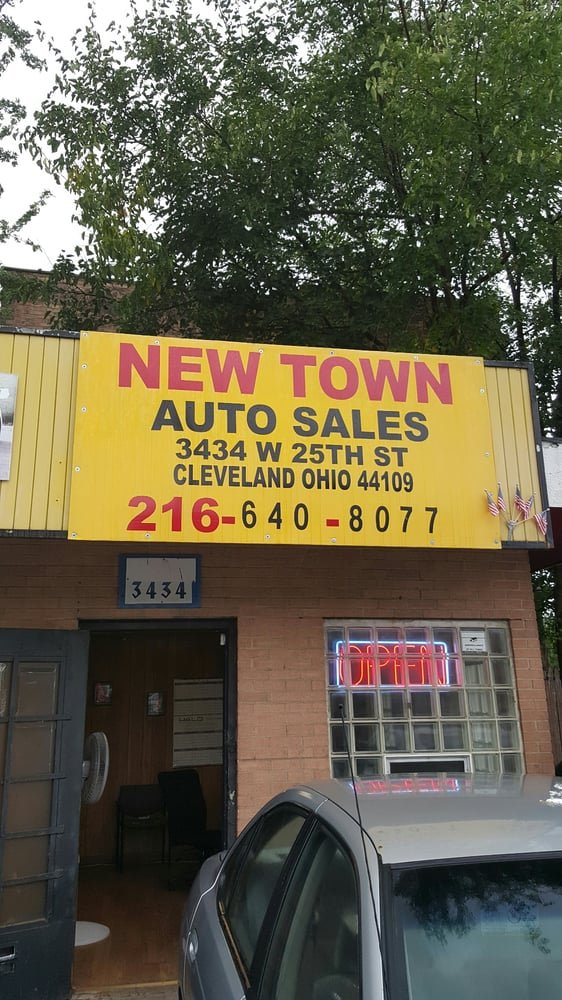 New town auto sales bilhandlare 3434 west 25th st for Usa motors cleveland ohio